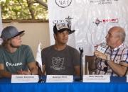 Casper Steinfath, Rodrigo Peña, Marc Murphy - Photo: ISA / Reed