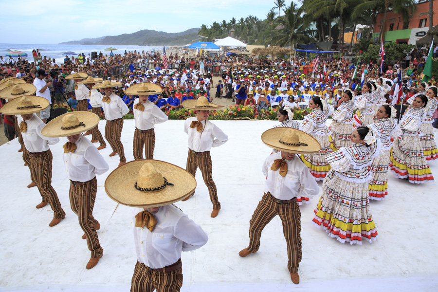 Traditional Mexican cultural performances kept the audience captivated. Photo: ISA/Ben Reed