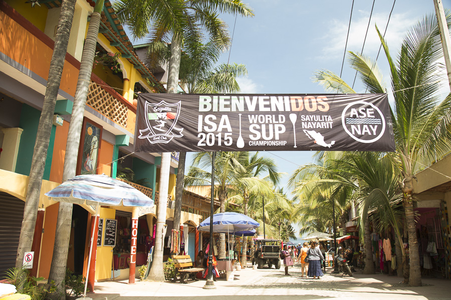 Sayulita, Riviera Nayarit, México will host the best SUP and Paddleboard athletes on the planet as they compete for Medals in the 2015 ISA World StandUp Paddle and Paddleboard Championship Presented by Hotel Kupuri. Photo: ISA/Bielmann