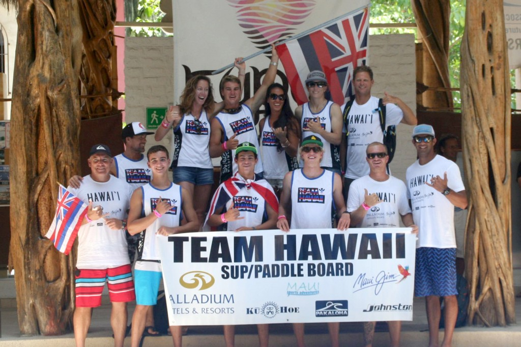 Team Hawaii will be making their first ever appearance in the World Championship.  Photo: ISA