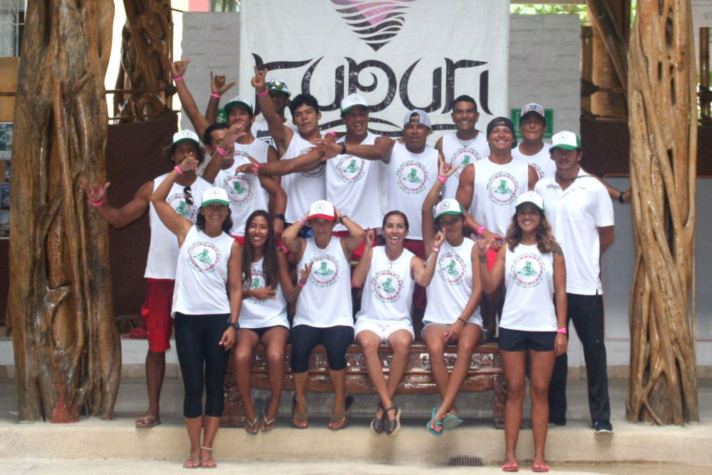 The host team, Mexico, is ready to defend their home break and compete against the world's top athletes. Photo: ISA