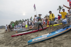 Womens Distance SUP Race. PHOTO: ISA/Reed