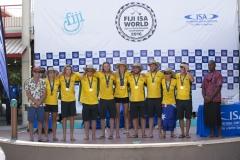 Winner of the Gold Medal Team Australia.  PHOTO: ISA / Ben Reed