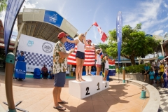 Women Sprint Race Finalists. PHOTO: ISA / Sean Evans