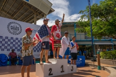 SUP Techinical Race Finalists.  PHOTO: ISA / Sean Evans