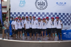 Team France Silver Medalist. PHOTO: ISA / Ben Reed