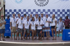 Team New Zealand Bronze Medalist. PHOTO: ISA / Ben Reed