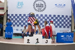 SUP Surfing Women Finalists. PHOTO: ISA / Ben Reed