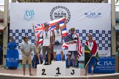 SUP Surfing Men Finalists. PHOTO: ISA / Ben Reed