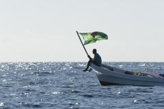 BRA - Flag. PHOTO: ISA / Ben Reed