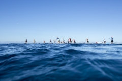Women SUP Distance Race - Start. PHOTO: ISA / Ben Reed