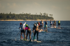 Tavarua SUP Distance Race. PHOTO: ISA / Sean Evans