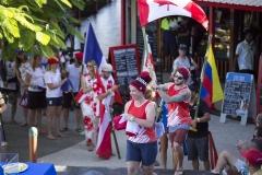 Team Canada. PHOTO: ISA / Ben Reed