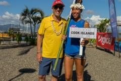 Team Cook Islands. PHOTO: ISA / Sean Evans