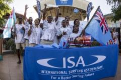 Team Fiji. PHOTO: ISA / Ben Reed