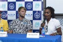 Egi Tikoi Dodd, Team Fiji. PHOTO: ISA / Ben Reed