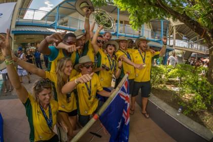 El Equipo Australia de Revalida Título Ganando la Medalla de Oro en el Fiji ISA World SUP and Paddleboard Championship 2016