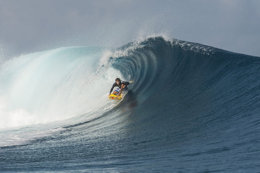 World-renowned big wave surfer and SUP racer, Kai Lenny, has confirmed his participation on Team Hawaii. Photo: Namotu Island
