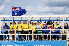 AUS - Team Closing Ceremony. PHOTO: ISA / Ben Reed