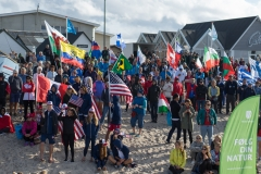 Denmark Cold Hawaii Opening Ceremony. PHOTO: ISA / Evans