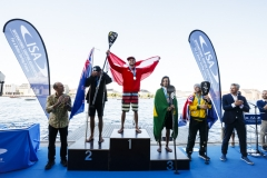 Men's SUP Sprint Race Winners. PHOTO: ISA / Ben Reed