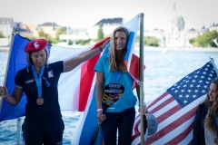 Women's Sprint Race Finalists. PHOTO: ISA / Evans