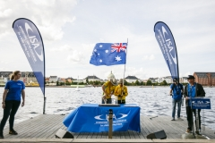 Team Australia - Opening Ceremony. PHOTO: ISA / Ben Reed