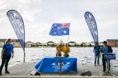 Team Australia - Opening Ceremony. PHOTO: ISA / Ben Reed
