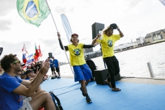 Team Brazil - Opening Ceremony. PHOTO: ISA / Ben Reed