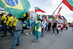 Team Brazil and Team Bulgaria. PHOTO: ISA / Ben Reed