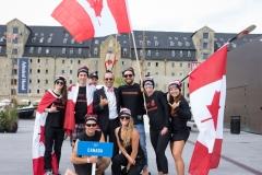 Team Canada - Team Opening Ceremony. PHOTO: ISA / Evans