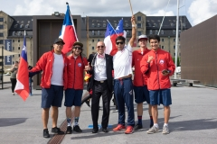 Team Chile - Team Opening Ceremony. PHOTO: ISA / Evans