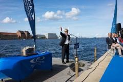 Dignitary Fernando Opening Ceremony. PHOTO: ISA / Evans