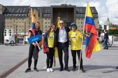 Team Ecuador - Team Opening Ceremony. PHOTO: ISA / Evans