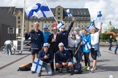 Team Finland - Team Opening Ceremony. PHOTO: ISA / Evans
