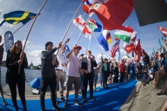 Flags Opening Ceremony. PHOTO: ISA / Evans