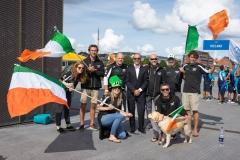 IRE - Team Opening Ceremony. PHOTO: ISA / Evans