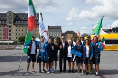 ITA - Team Opening Ceremony. PHOTO: ISA / Evans