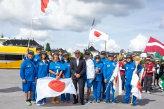JPN - Team Opening Ceremony. PHOTO: ISA / Evans