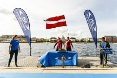 Team Latvia - Opening Ceremony. PHOTO: ISA / Ben Reed