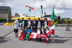 MEX - Team Opening Ceremony. PHOTO: ISA / Evans