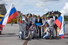 RUS - Team Opening Ceremony. PHOTO: ISA / Evans