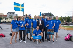 SWE - Team Opening Ceremony. PHOTO: ISA / Evans