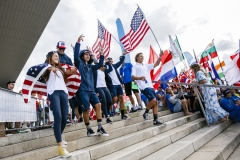 Team USA - Opening Ceremony. PHOTO: ISA / Ben Reed