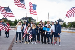 USA - Team Opening Ceremony. PHOTO: ISA / Evans