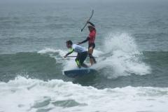 BRA - Caio Vaz Fra Benoit Carpentier Denmark Surf. PHOTO: ISA / Evans