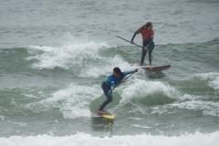 FRA - Justine Dupont Jpn Yuuka Horikoshi Denmark Surf. PHOTO: ISA / Evans