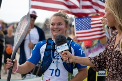USA - Fiona Wylde Denmark Technical Races. PHOTO: ISA / Evans