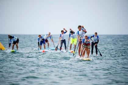 El Centro de Atención del ISA World SUP and Paddleboard Championship Pasa al Fin de Semana con las Carreras Técnicas y de Relevos para Decidir el Primer Título en Europa