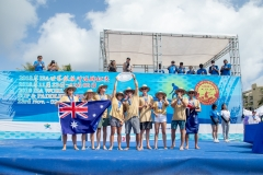 Team Australia - Team Gold Medalist. PHOTO: ISA / Pablo Jimenez